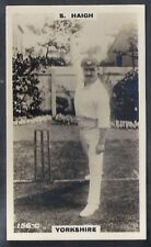 PHILLIPS-CRICKET ERS BROWN BACK F192-#156c- YORKSHIRE - HAIGH