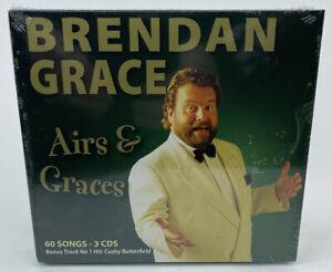 Brendan Grace - Airs & Graces - New & Sealed 3 CD Box Set