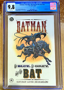 BATMAN: THE BLUE, THE GREY & THE BAT in CGC 9.8 NM/MINT  DC comic embossed cover