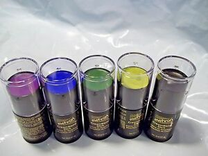 Clearance Mehron Cream Blend  Professional  Purple Blue  Green Black Makeup