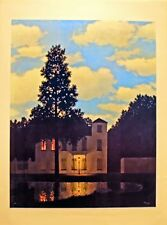 """Streetlamp"" 20x26 Open Edition Print by Rene Magritte"