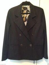 """CAbi """"Luxe Tux"""" Blazer Jacket ~ Black ~ Size 6 ~ Style # 987 ~NWT $138 Retail =="""