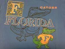 Vintage University Of Florida Gators Blue Medium T-Shirt