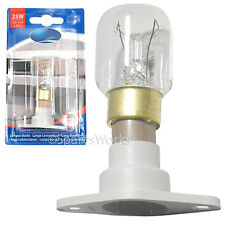 BOSCH Genuine 25W T25 FORNO A MICROONDE LAMPADINA HMT7 HMT8 HMT9