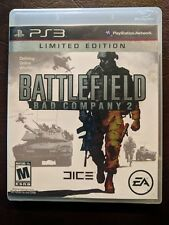 Battlefield: Bad Company 2 Limited Edition (Sony PlayStation 3, 2010) PS3 Nice!