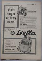 1957 Isetta Original advert No.2