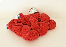 3 Skeins of Berroco Peruvia Yarns ~ COLOR #7132 Lot 521 Red