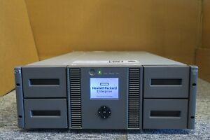 HP StorageWorks MSL4048 3x LTO6 706824-001 413509-002 SAS Tape Library Rackmount