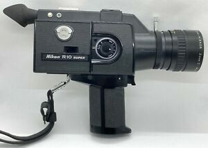 【AS-IS】Nikon R10 Super 8mm Movie Camera w/Zoom C Macro 7-70mm f/1.4 from Japan