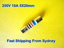 Microwave Oven MWO Ceramic Slow Blow Fuse 250V 10A 5X20mm High Quality NEW(F01)