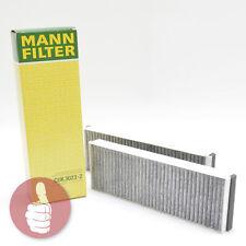 MANN-FILTER Innenraumfilter Pollenfilter mit Aktivkohle CUK 3023-2 VAG VW Gruppe