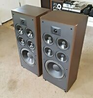 Polk Audio*M12 Monitor Series*Tower Professional Speakers*No Grill Covers*