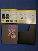 NES Dr. Mario Game Cartridge and Manual TESTED! Authentic!! (Nintendo)