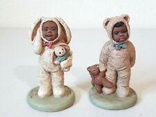 Vintage Martha Holcombe Bootsie #67 & Bo #71 Figures All God's Children