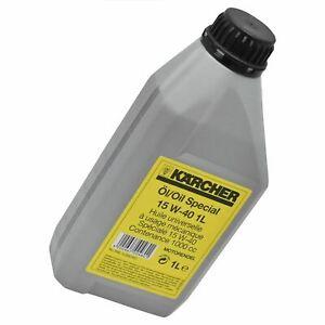 Karcher Pressure Washer High Performance Engine Pump Oil 1 Litre 6.288-050.0