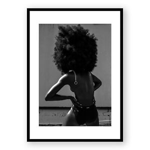 Black and White Photography , Fashion Wall Art , Woman Art , Framed Print