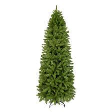1250 Tips 7.0 FT Premium Hinged Slim Christmas Trees Narrow Fir Tree Pencil Tree