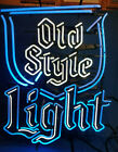 """Vintage """"Old Style Light"""" Neon Sign"""