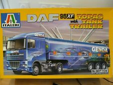 Maquette Camion 1/24 ITALERI DAF XF95 with Topas Tank Trailer Ref 3817