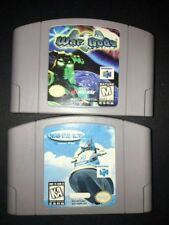 WAVE RACE 64 and God Wars --- NINTENDO 64 N64 Game lot