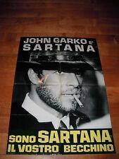 SOGGETTONE SONO SARTANA IL VOSTRO BECCHINO J GARKO K KINSKY SPAGHETTI WESTERN