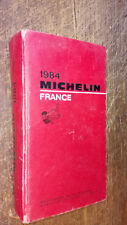 Guide Michelin France 1984