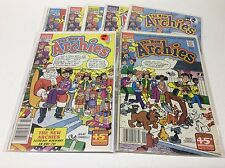 THE NEW ARCHIES #2-16 (ARCHIE/1988/SCARPELLI/061642) SET LOT OF 7