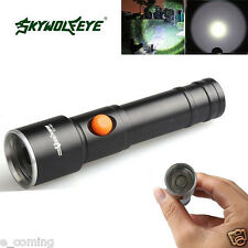Wolf 2800 LM Zoomable CREE XML T6 LED AA Battery Flashlight Lamp Pocket Torch
