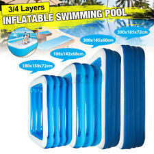 Summer Large Family Inflatable Swimming Pool Garden Outdoor Kid Paddling  K