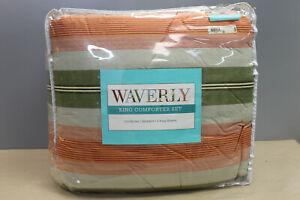 Waverly Wailea Coast 4-pc Comforter Set Size:King Color:Dove