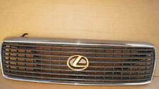 93 94 Lexus LS400 LS 400 Front Radiator Upper Grille Grill Gold Emblem