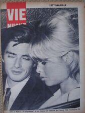 BRIGITTE BARDOT SAMY FREY COVER 1963 IN COPERTINA ITALIAN MAGAZINE VIE NUOVE