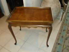 Thomasville Tea Table w/Queen Anne  Stye Legs