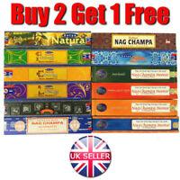 Satya Sai Baba Nag Champa Incense Sticks 15g (BUY 2 GET 1 FREE)