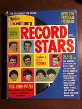 THE OFFICIAL RADIO LUXEMBOURG BOOK OF RECORD STARS - SOUVENIR PRESS - HB