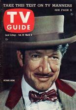 1959 TV Guide February 28-Richard Boone; John Russell - The Lawman; The Rifleman