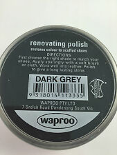 SHOE POLISH For smooth leather 45G  - All Waproo Colours Available.