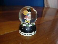 "1999 Michel & Company Mary Engelbreit Miniature 2-1/2"" Peace on Earth Snowglobe"