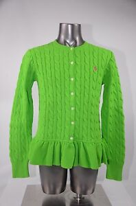 Youth Ralph Lauren Sweater Racing Green Size S-XL 313526493002 New with Tags