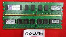 2x 2GB 4GB ECC DDR2 UDIMM RAM memoria per Dell Power Edge R200 SC430 PC2-5300E