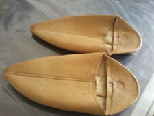 MOROCCAN LEATHER BABOUCHE Slippers tout cuir bout pointu belle fabrique