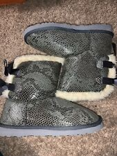 ugg australia Short Boots Gray Size 7 Womens