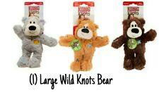 Kong WILD KNOTS - (1) LARGE Bear (Random) Rope Body w/Minimal Stuffing Dog Toy