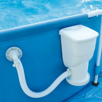 Summer Waves 600 Gallon SkimmerPlus Filter Pump System for Above Ground Pools