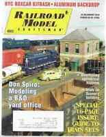 Railroad Model Craftsman Magazine January 2010 NYC Boxcar Kitbash, Aluminum Back