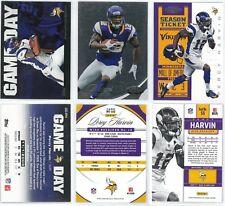 Percy Harvin Football Cards - 2011 Topps GD-PH, 2012 Panini #110 & #55