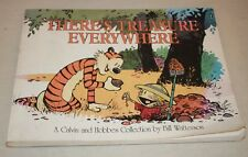 CALVIN & HOBBES Watterson THERES TREASURE EVERYWHERE collection comic book color