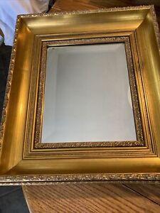 Ethan Allen Collectors Classics Gold Framed Mirror
