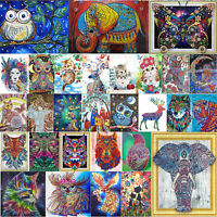 Lovely Owl DIY 5D Full Drill Diamond Painting Embroidery Cross Stitch Home Decor