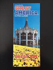 1979 Marriott's Great America Gurnee, Illinois Amusement Park Brochure